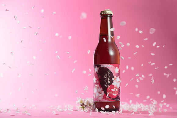Craft brewer releases beer made with cherry blossoms, just in time for sakura season