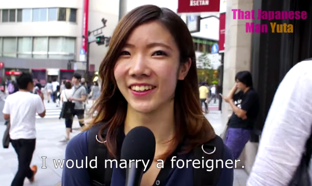 Japanese girls interviewed on their thoughts about mixed-race relationships 【Video】
