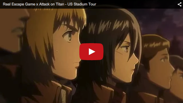 Attack on Titan Real Escape Game slated for NYC's Richmond County Bank Ballpark