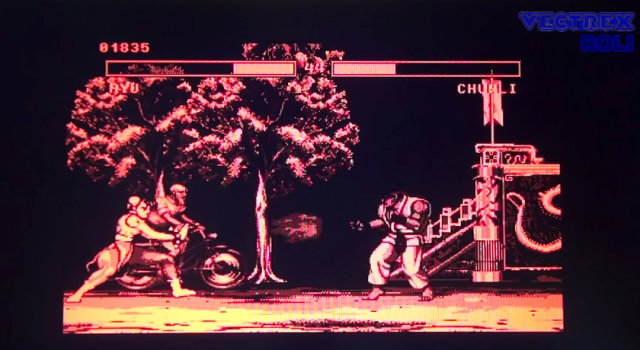 Someone made a fake Street Fighter II for Nintendo's Virtual Boy, and it's incredibly detailed