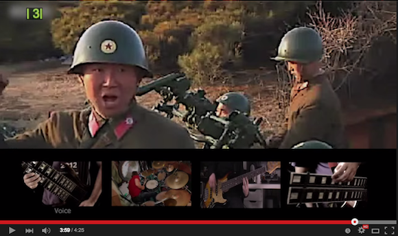 North Korean officials, Gaddafi and more get the heavy metal treatment from talented guitarist