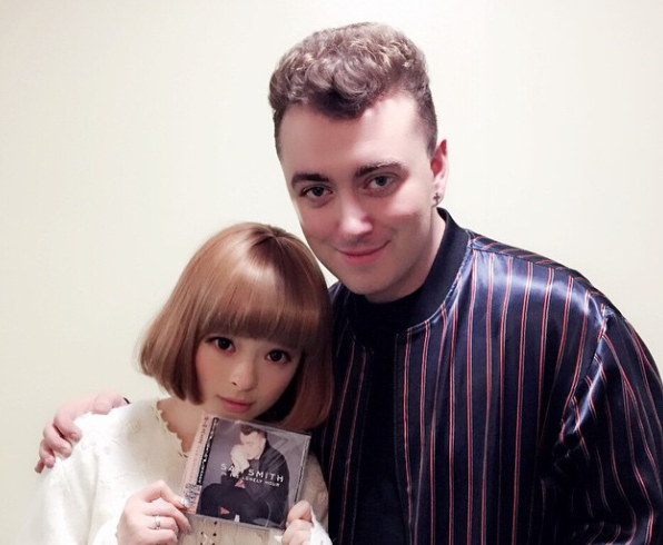 Grammy winner Sam Smith comes to Japan, meets Kyary Pamyu Pamyu in clash of mundane, crazy names