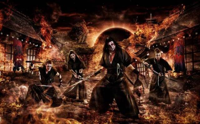 Meet WHISPERED — the heavy metal band from Finland with a samurai spirit!