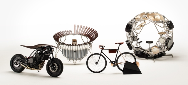 Because we all want globular drum sets: Yamaha design teams take creativity to a new level