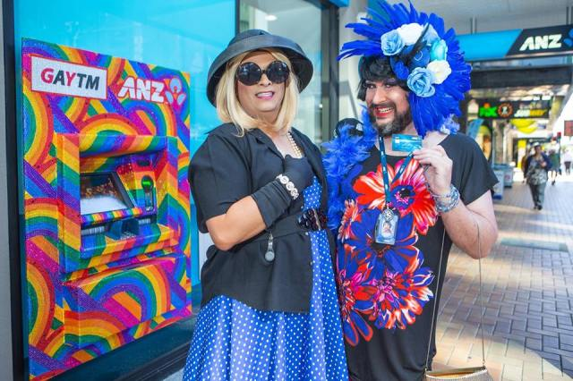 Aussie/Kiwi ATMs come out of the closet as fabulous GayTMs