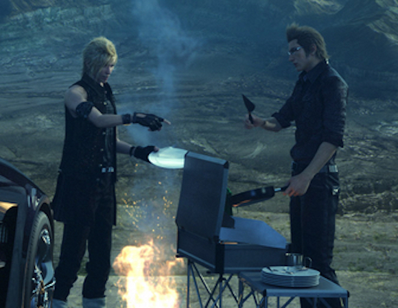 Product placement level up: Final Fantasy XV and Coleman team up for camping scenes