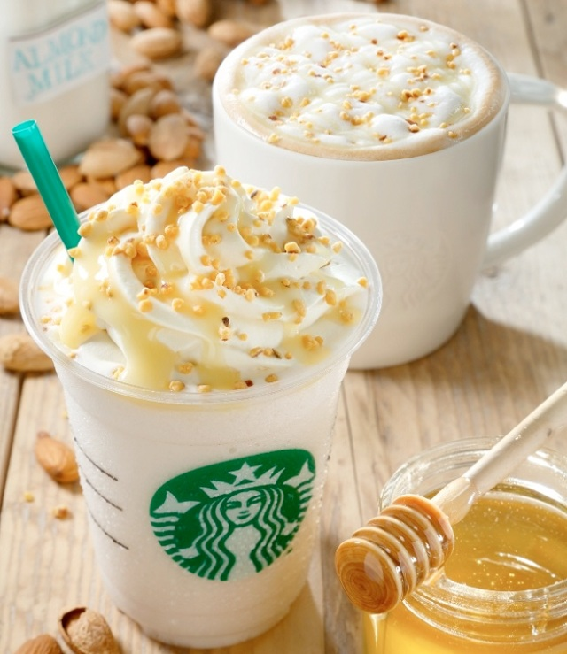 Starbucks to release Almond Milk Latte and Frappuccino in Japan for a limited time