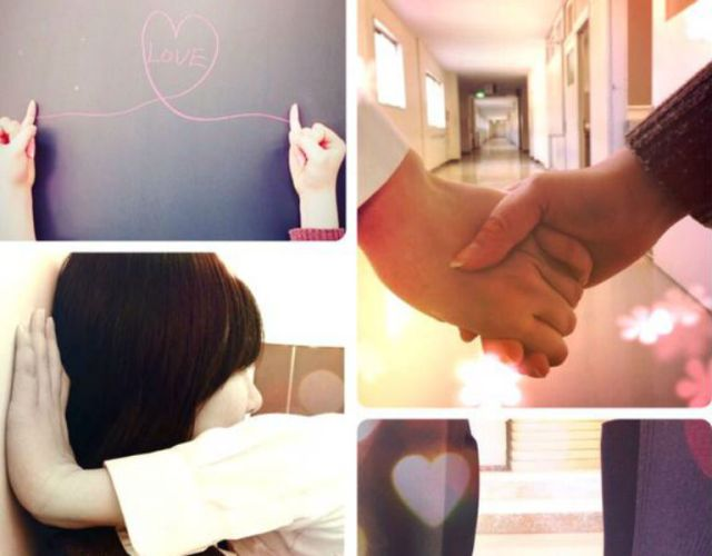 """Japanese girl finds """"school love,"""" but with a surprising """"partner"""""""