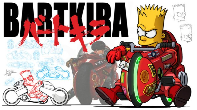 "In Neo Tokyo this weekend? Check out the bizarre ""Bartkira"" project exhibition"