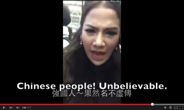 Thai celebrity posts video ranting about Chinese tourists turning orderly line into free-for-all
