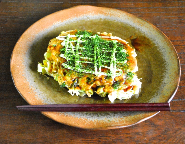 How to make okonomiyaki at home【SoraKitchen】