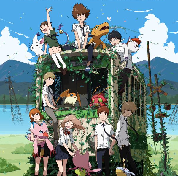 New image released from upcoming Digimon sequel, along with vocal cast and theme song info