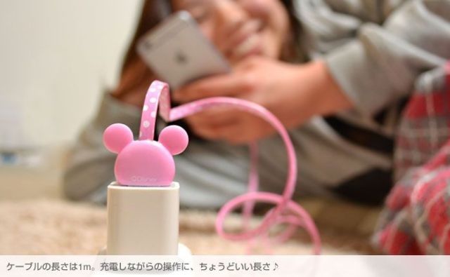 Charge your phone with Mickey: Cute new Disney USB cables now on sale