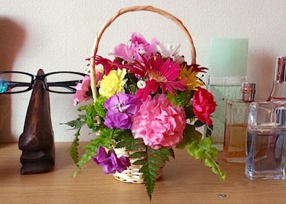 graduation countdown, flowers from daughter, Kyaraben charaben character bento, iyagarase, harassment bento, ttkk blog Kaori
