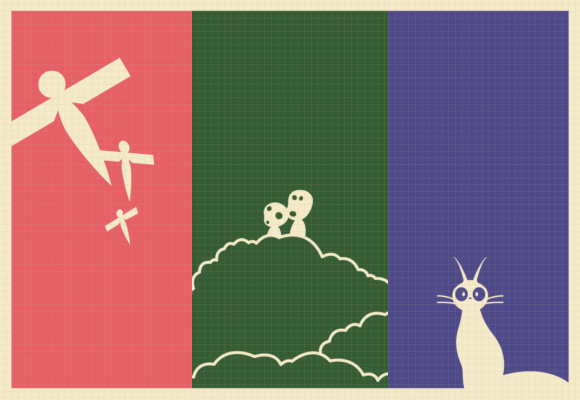 Test your Ghibli knowledge: Can you identify the films by these minimalist fan-made posters?