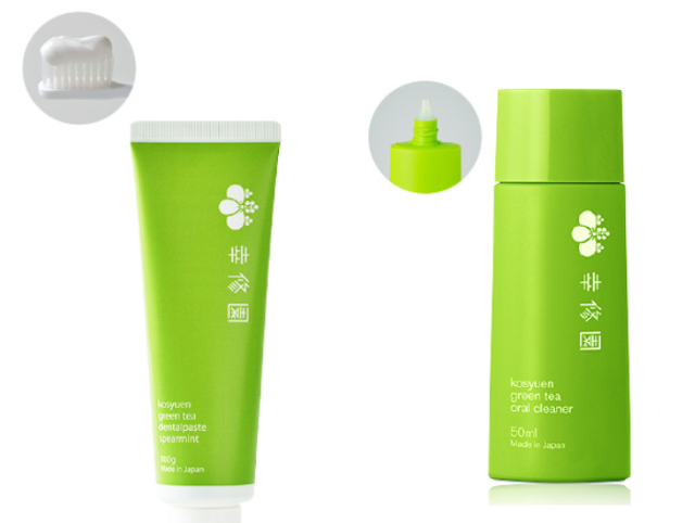 After a post-meal cup of green tea, now you can brush your teeth with some green tea toothpaste