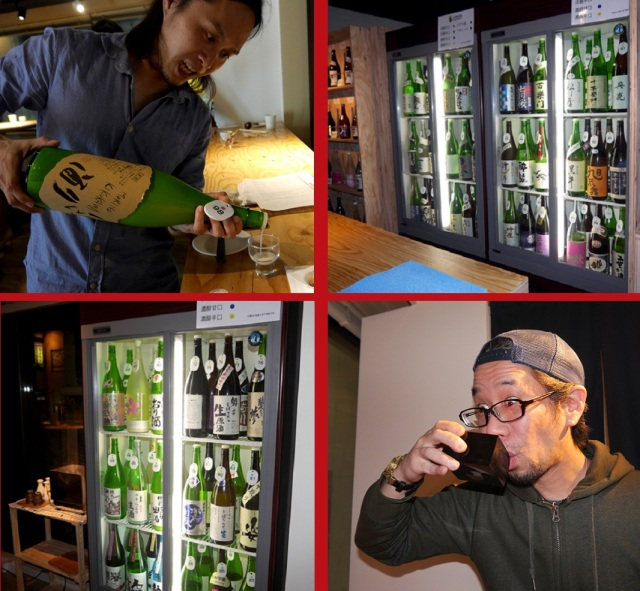 Drinkers' paradise found at Tokyo restaurant-100 types of sake, all-you-can-drink, no time limit