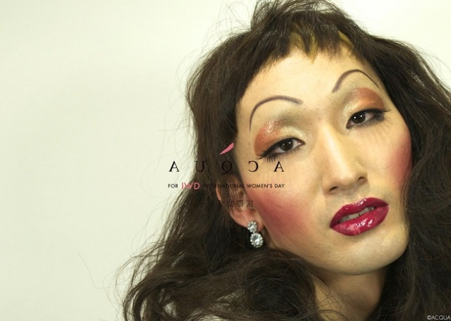 Get a makeover for International Women's Day, feel what it's like to be a woman【Photos】
