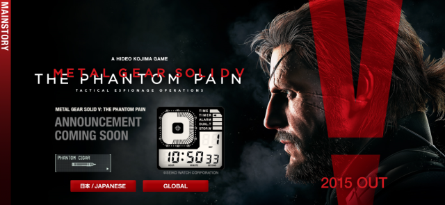 Is Metal Gear Solid V finally getting a release date? Mysterious countdown appears on website