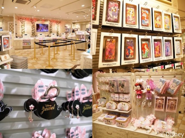 We visit the brand-new Disney store for grown-up women in Tokyo's Harajuku 【Photos】