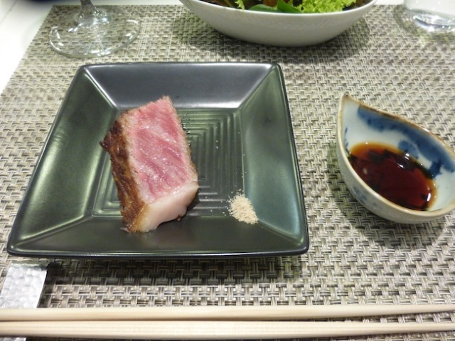 We love wagyu! We spend an evening learning about (and eating) Japanese beef
