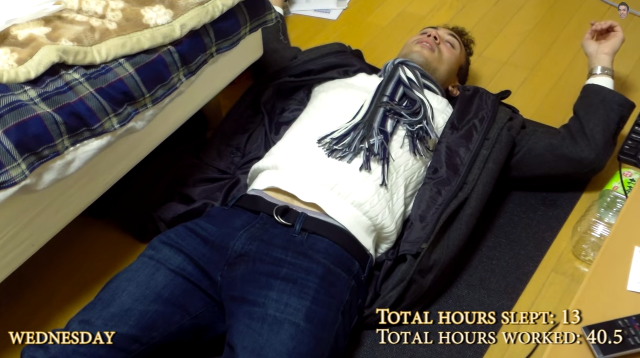 Video shows how Japanese salarymen work crazy hours, but is that really the norm? [Video]