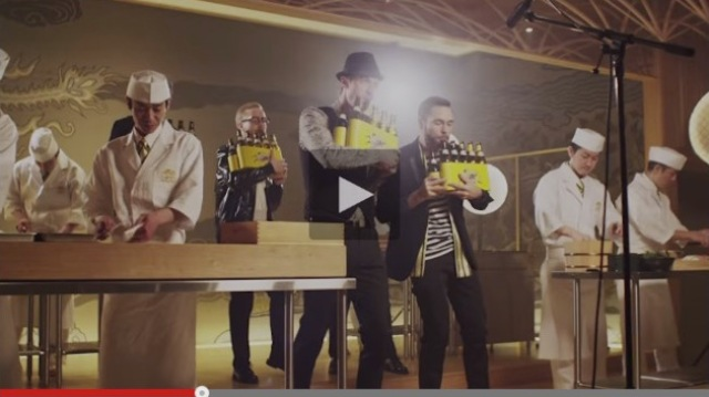 Bottle-blowing meets the sounds of sushi in The Bottle Boys' new ad for Kirin【Video】