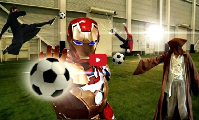 Super Hero Soccer: A match of epic proportions 【Video】