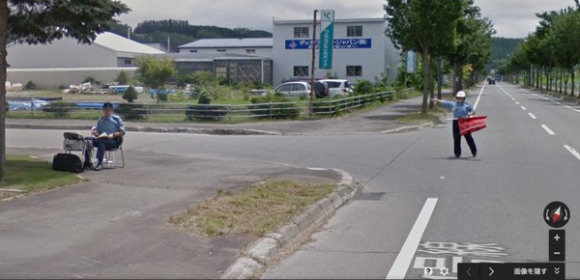 Now you can experience getting stopped by the Japanese police on Google Streetview