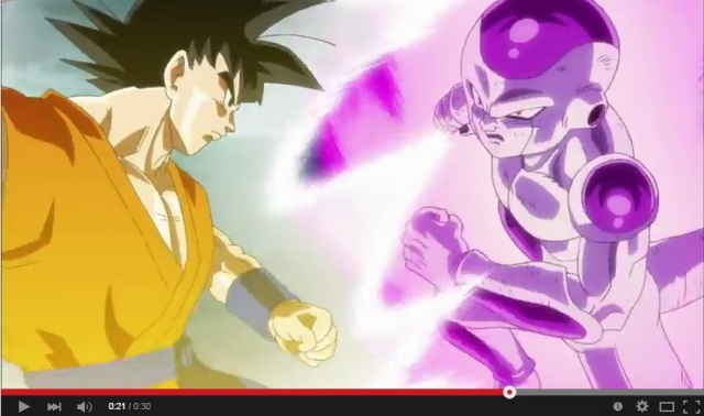 Dragon Ball Z: Resurrection 'F' TV ad released, includes Jaco!