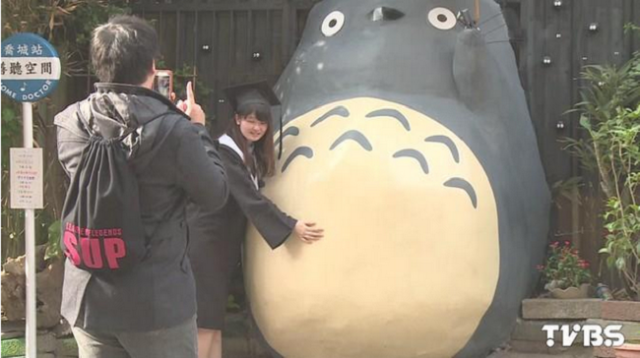 Fan-made Totoro is causing a stir in Taiwan but how soon before it's shut down?