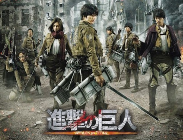 Live-Action Attack on Titan films' poster, 2nd movie title unveiled