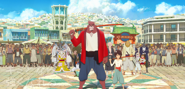 Anime movie The Boy and the Beast gets two trailers and a voice cast 【Videos】