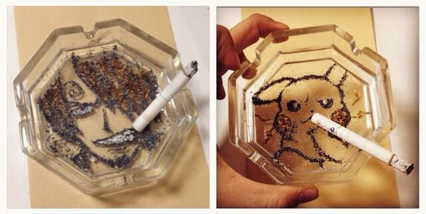 Smoking may be bad, but these tobacco art creations are nothing short of fab!