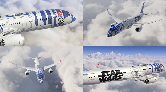 R2-D2 jet takes to the skies in the most dramatic airline commercial we've seen all year