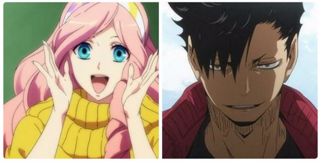Two wildly different characters, same voice actor. Twitter users share their shocking anime finds