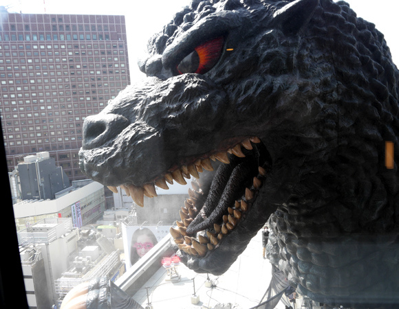 A room with a (terrifying) view: Visiting the hotel that overlooks Godzilla's giant head 【Photos】