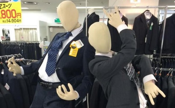 Spotted in Japan: seriously stylish Japannequins