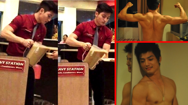 Gorgeous Filipino KFC manager is tastier than a whole bucket of hot wings