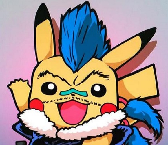 Introducing the new PikaChu! Amusing character mash-ups bring the Japanese internet to giggles