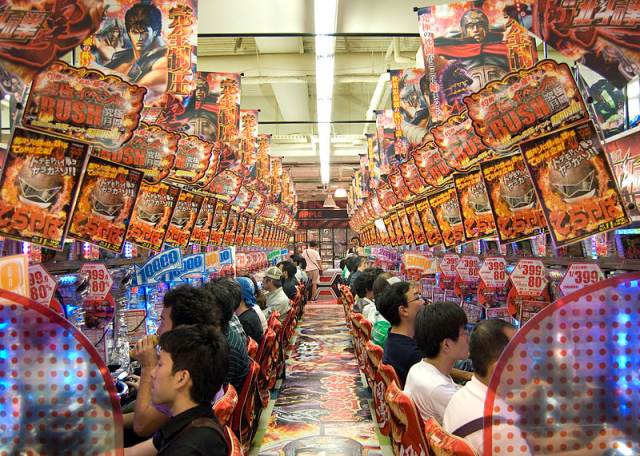 Proposed facial recognition system would send warning emails to families of pachinko addicts