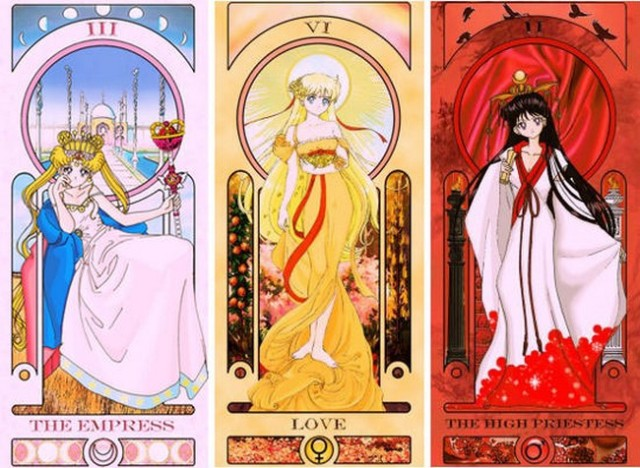Divination will never be the same with these gorgeous fan-illustrated Sailor Moon Tarot cards!