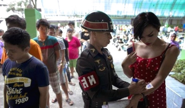 Beautiful soldiers: This is what conscription looks like for Thailand's trans women