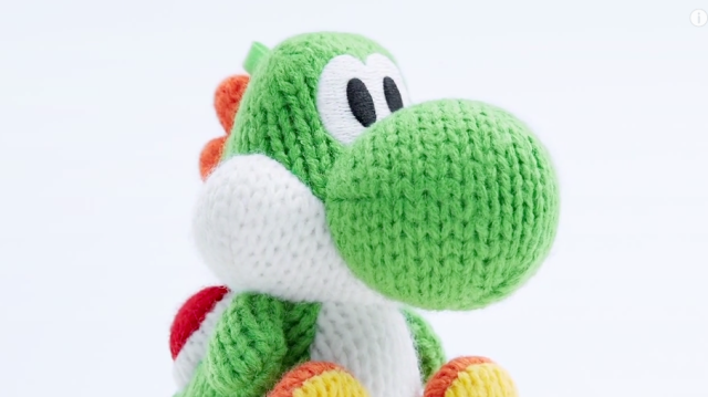 This woolly Yoshi Amiibo will make magic happen on-screen, be your bedtime buddy afterwards