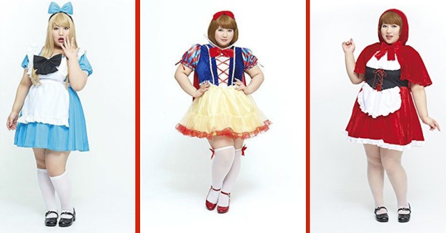 Marshmallow girls want to cosplay too! Plus-size costumes to be released next fall