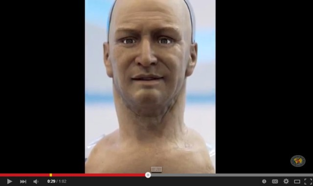Could this creepy old guy actually be…a robot?!