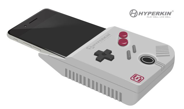 Hyperkin's joke design for a Game Boy emulator for iPhones is now the real deal…maybe