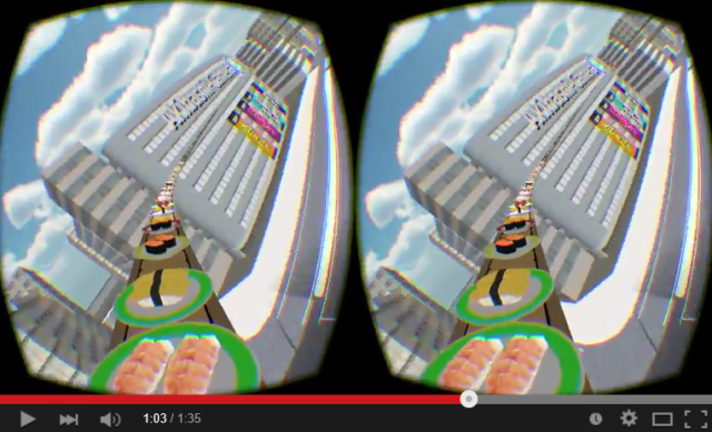 Ultra-Sushi-Go-Round is a thrilling, mouth-watering VR tour of the Tokyo skyline
