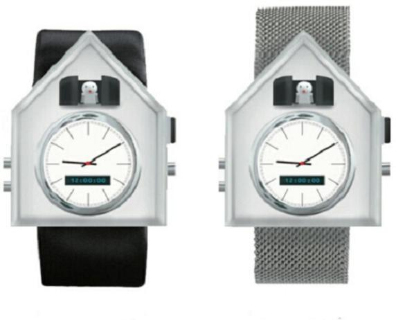Get a bird on your arm: The classic cuckoo clock will soon be available as a wristwatch