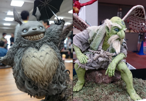 Amazing Japan Model Expo shows off creations creepy, cute, and undeniably gorgeous